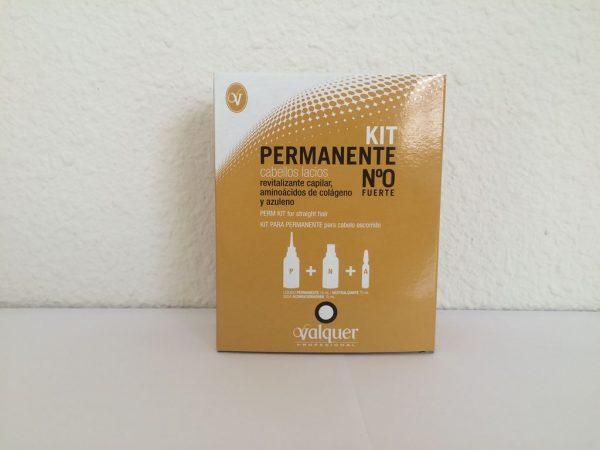 Kit Permanente número 0 para cabellos lacios
