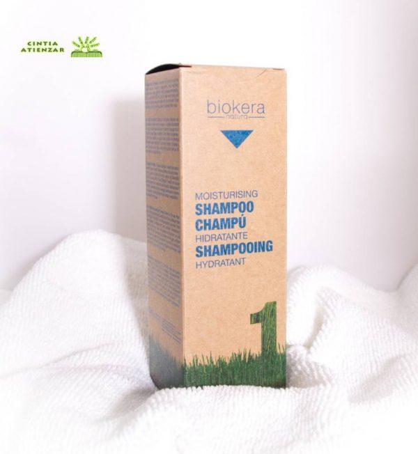 champú hidratante biokera