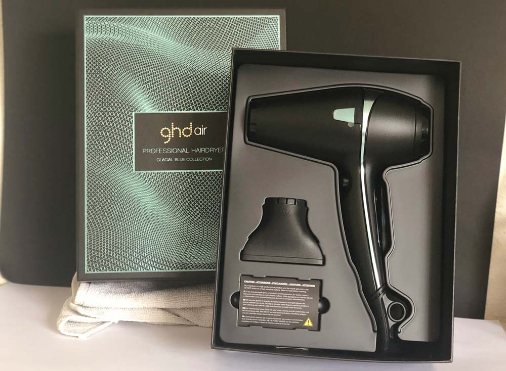 GHD Air Glacial Blue | Cintia Atienzar