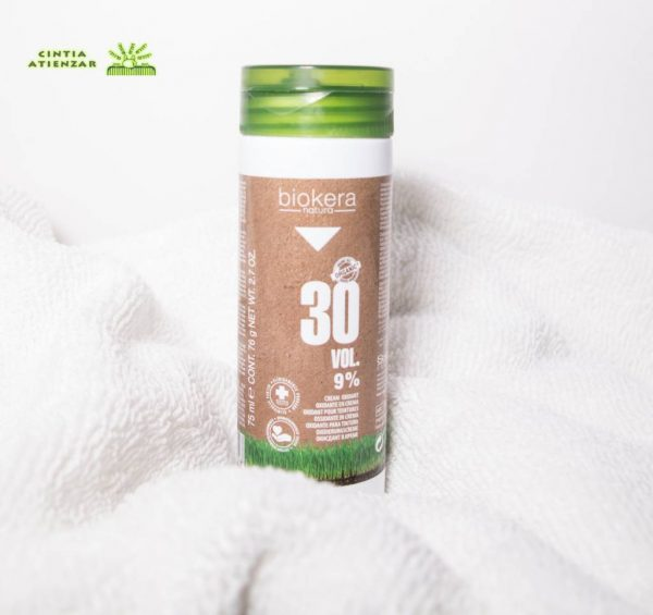 Oxidante en crema Biokera Natura Color | Peluquería Cintia Atienzar