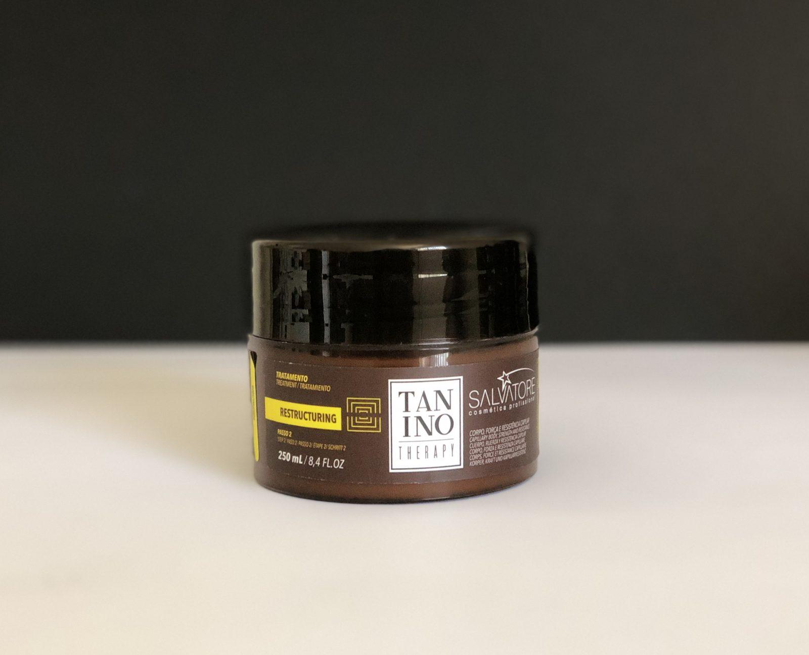 Restructuring mascarilla Tanino Therapy