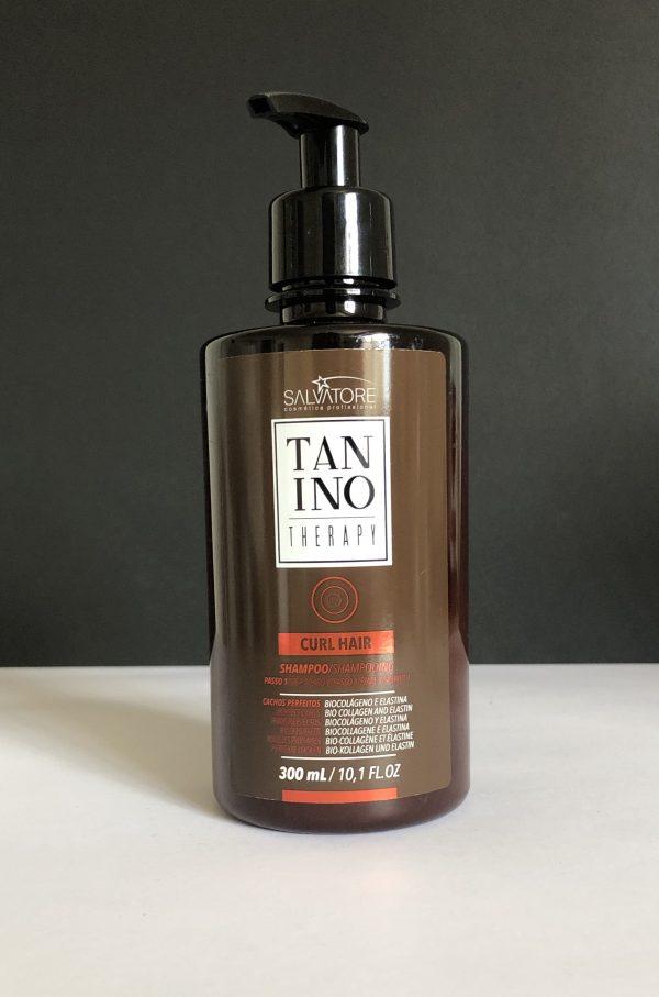 Curl Hair Champú Tanino