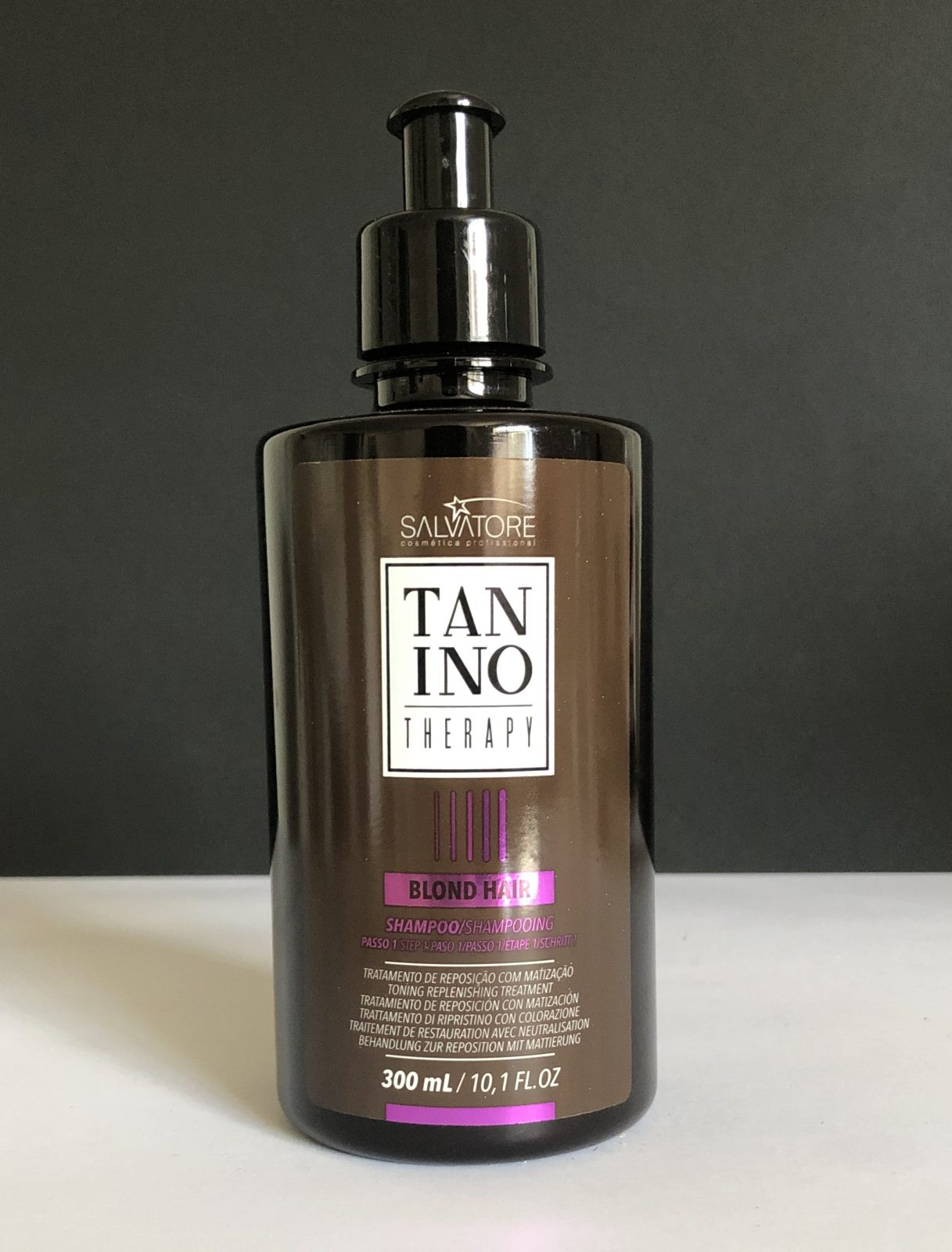 Blond Hair Champu Tanino Therapy | Peluquería Cintia Atienzar