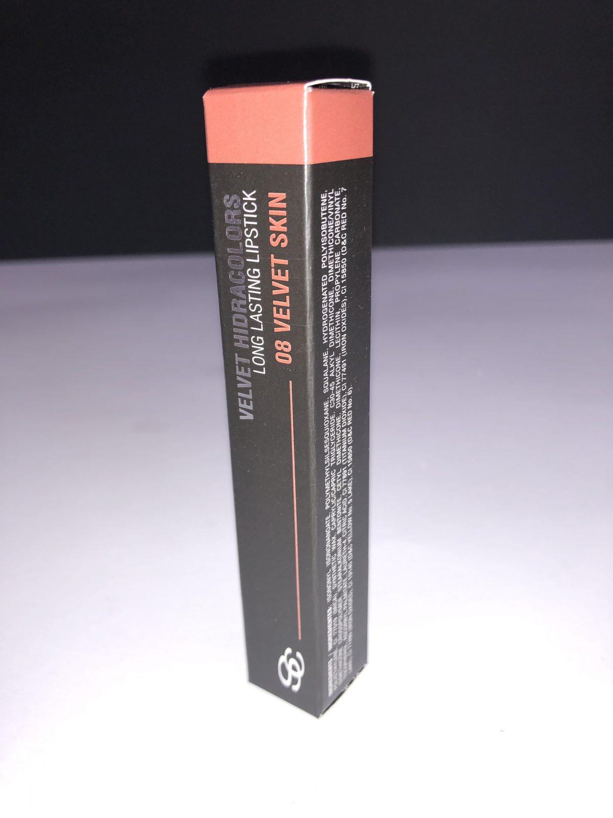 Long Lasting Lipstick Velvet Skin 08 Salerm | Peluqueria Cintia Atienzar