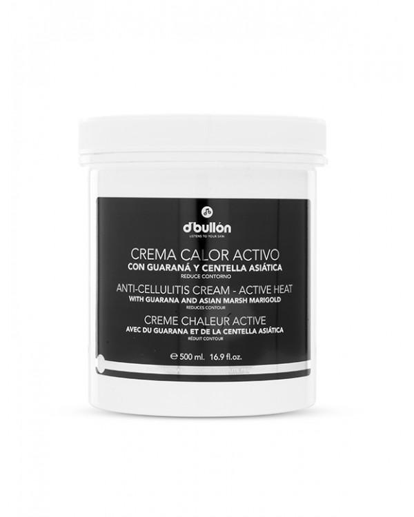 Crema corporal calor activo Bullón